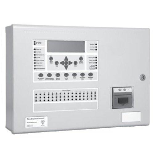 Centrala de incendiu cu 4 bucle Kentec ENH63964 03P cu 96 LED-uri de zona montaj aparent cu imprimanta