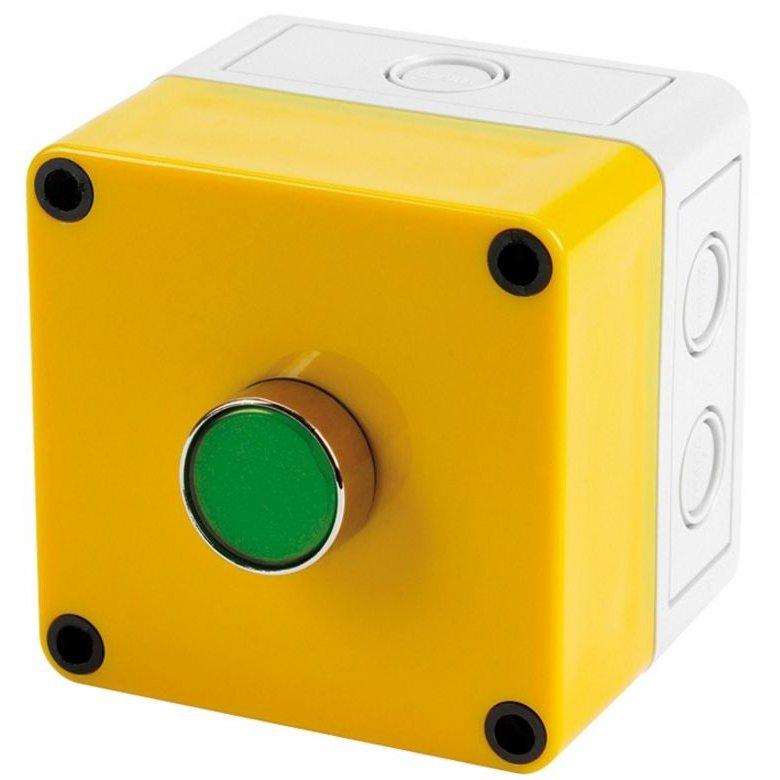 Buton de mentinere/anulare stingere incendiu C-TEC EP215 montare pe doza simpla IP66