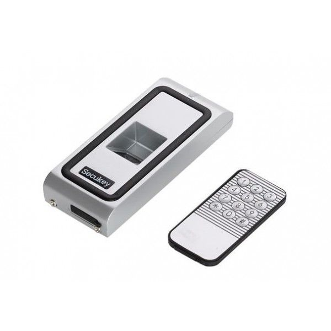 Controler De Acces Biometric F2-em Pentru O Usa. Functioneaza Cu Amprenta Sau Cartele De Proximitate Em 125khz