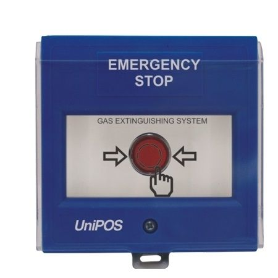Buton Manual Oprire De Urgenta Stingere Unipos Fd3050b