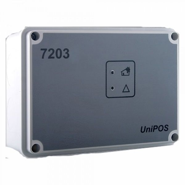 Modul intrari-iesiri cu izolator de bucla integrat UniPOS FD7203