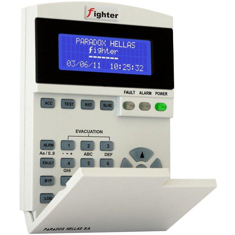 Tastatura LCD pentru control la distanta Paradox Fighter KSDA