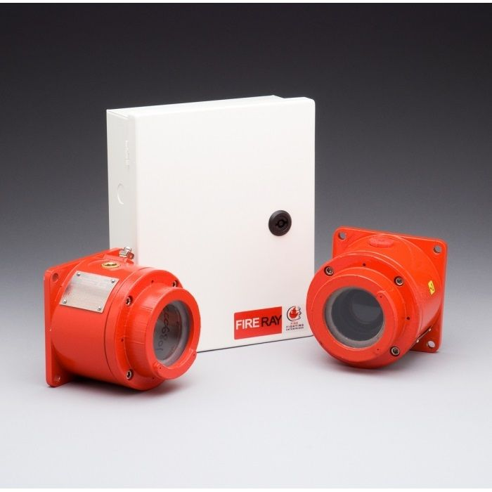 Set bariera de fum optica pentru mediu antiexplozie Fire Fighting Enterprises U.K. FIRERAYEExd