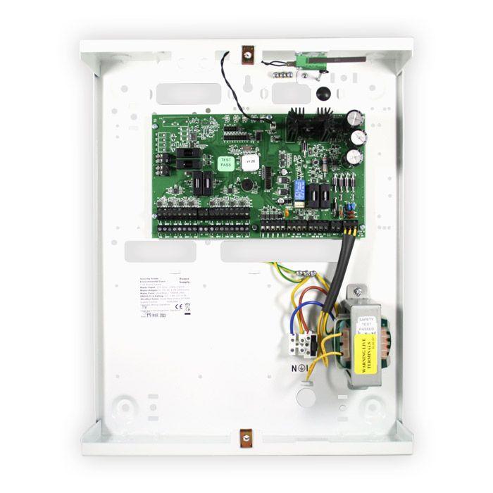 Input Expander Module Pyronix FPPCX-RIX8+PSU; 8 Inputs; 4 Outputs; 3- EOL; 2 5A PSU included; Metal Box.