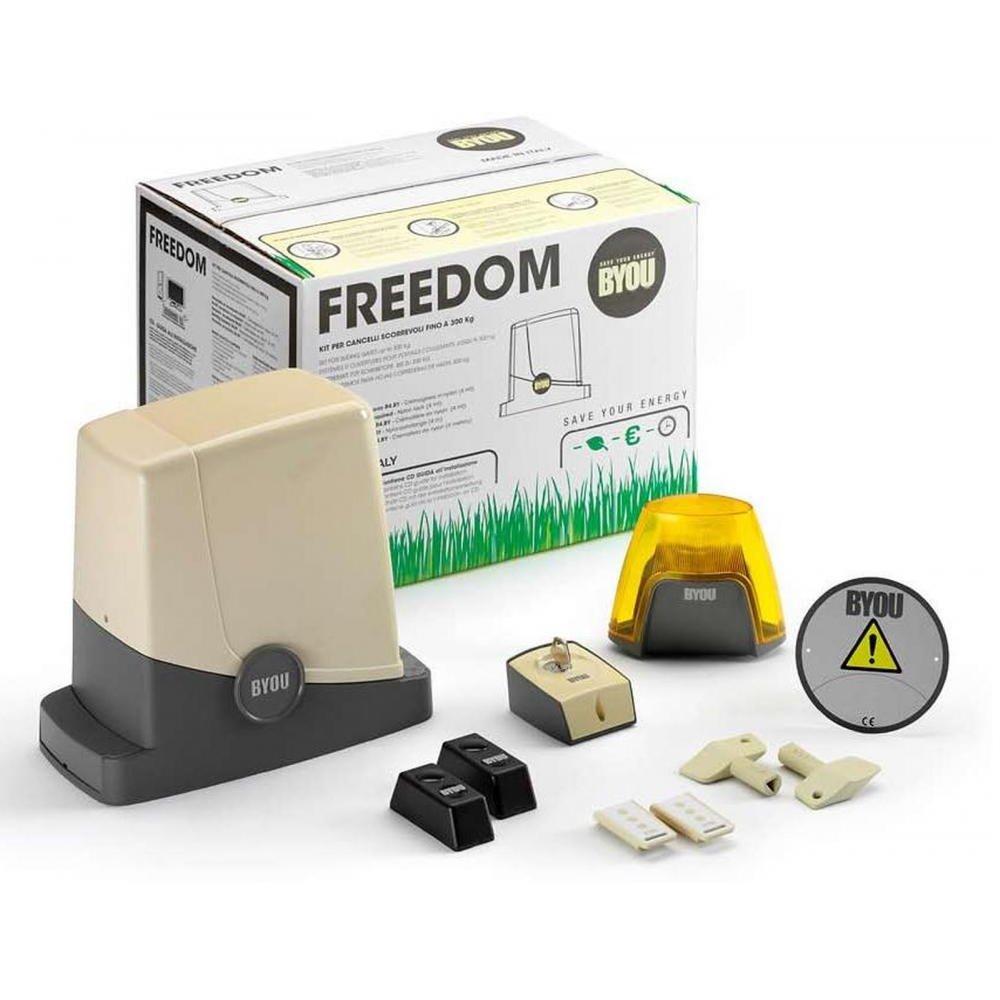 Kit Automatizare Porti Culisante Pana La 300kg Freedom