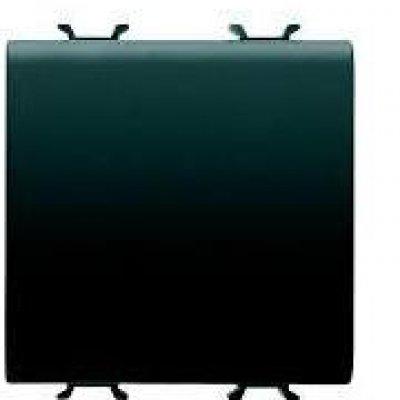 Intrerupator cu revenire 2 module negru Gewiss Chorus GW12171