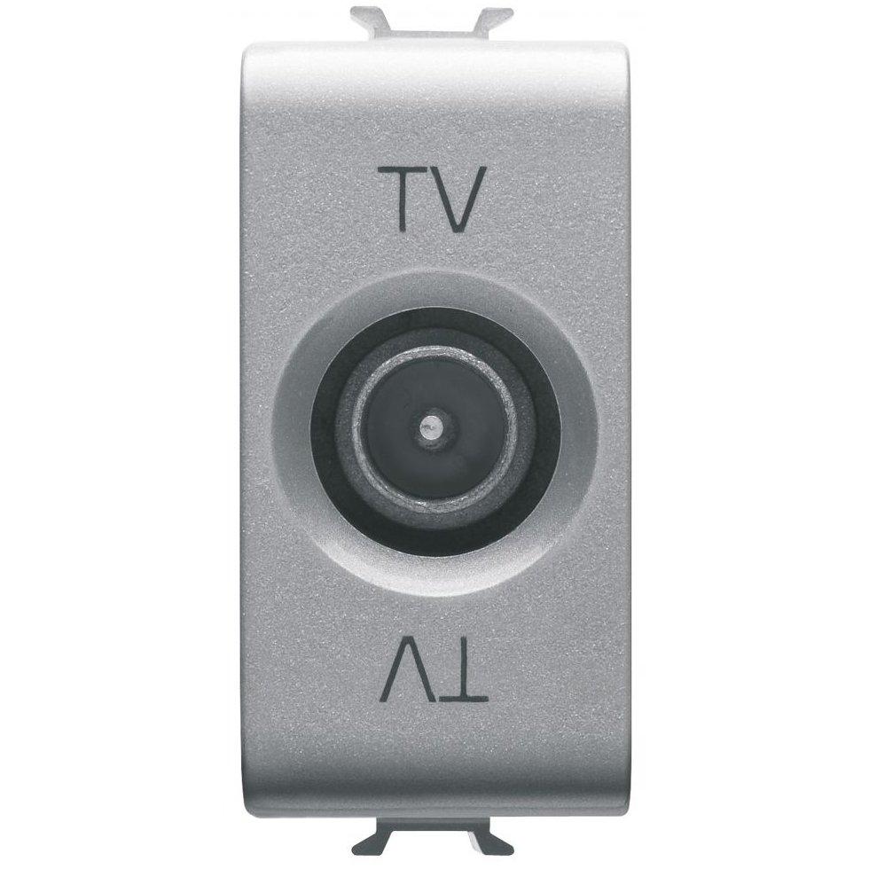 Priza tv directa 1 modul titan Gewiss Chorus GW14361