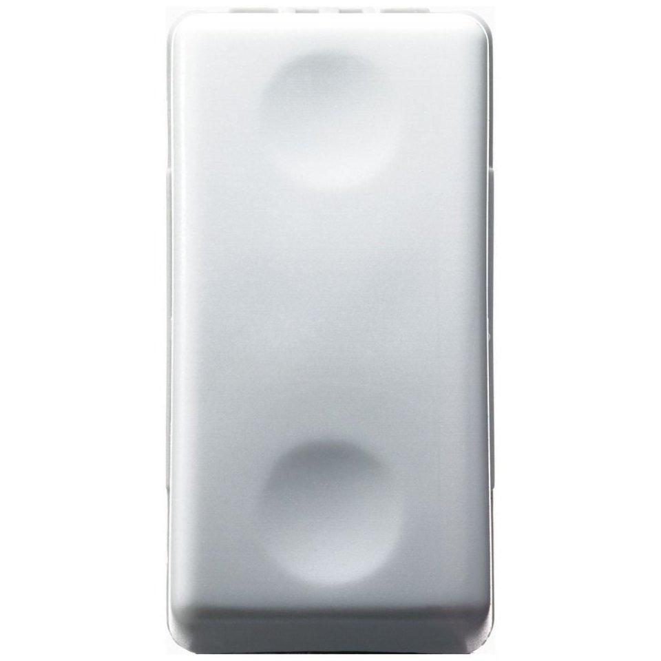 Intrerupator cu revenire 1 modul Gewiss System GW20510 alb