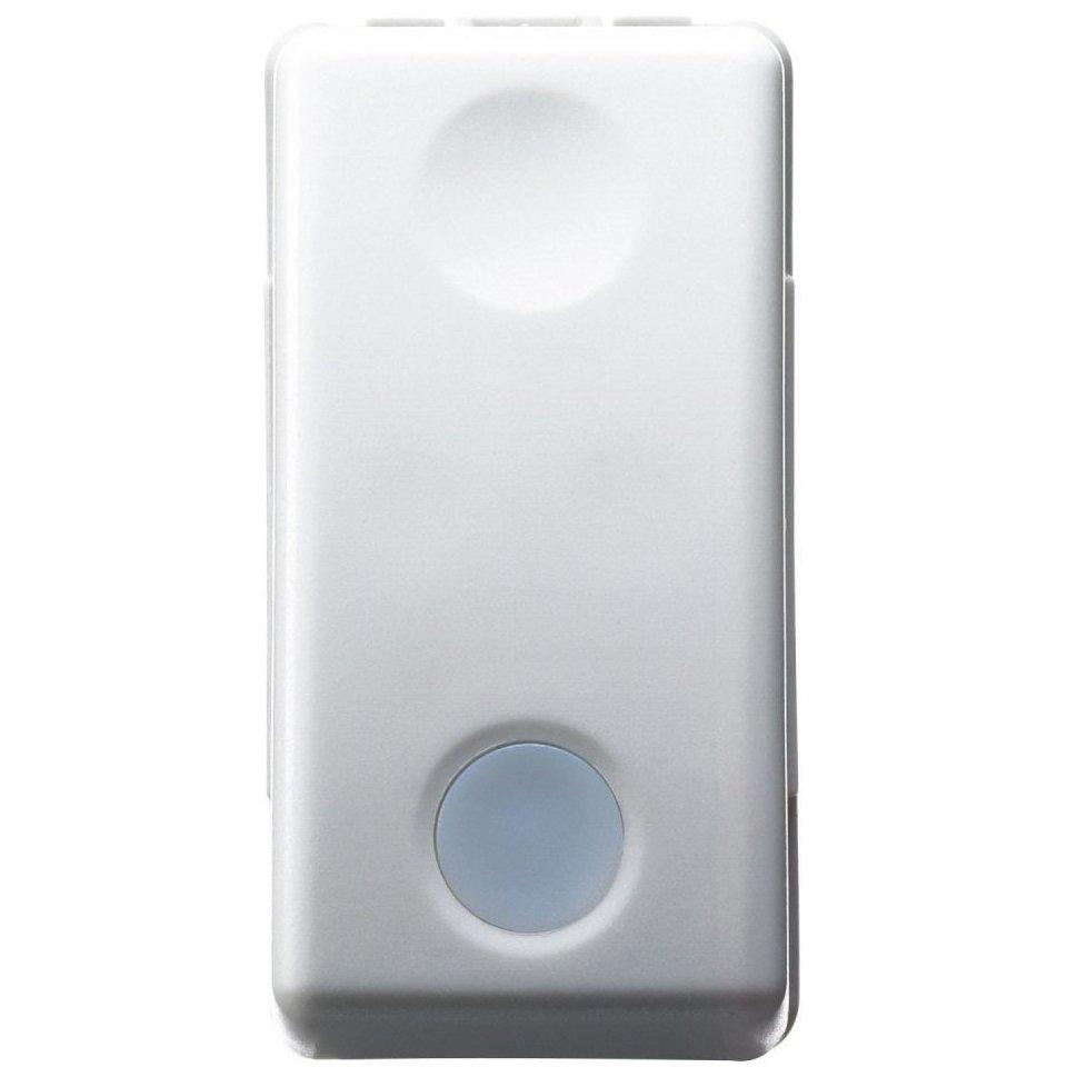 Intrerupator cap scara 1 modul cu led Gewiss System GW20577 alb