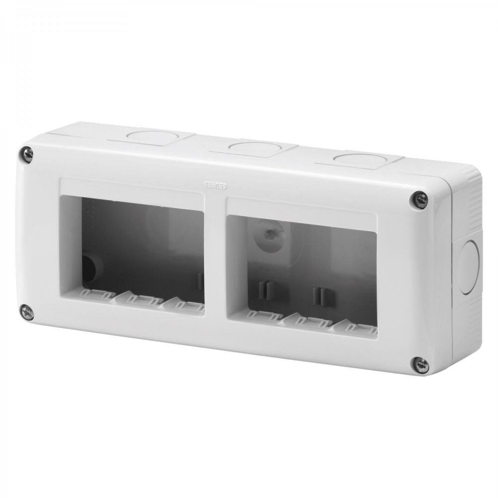 Doza aplicata 3+3 module IP 40 Gewiss System GW27005