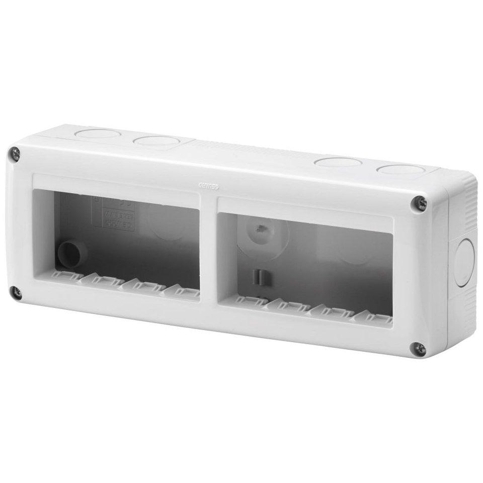 Doza aplicata 4+4 module IP 40 Gewiss System GW27006