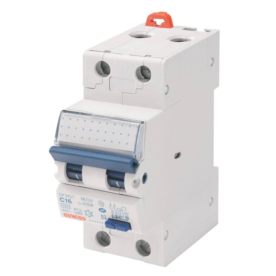 Intrerupator automat diferential 10A/30mA Gewiss GW94006