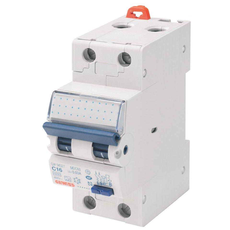 Intrerupator automat diferential 20A/30mA Gewiss GW94008