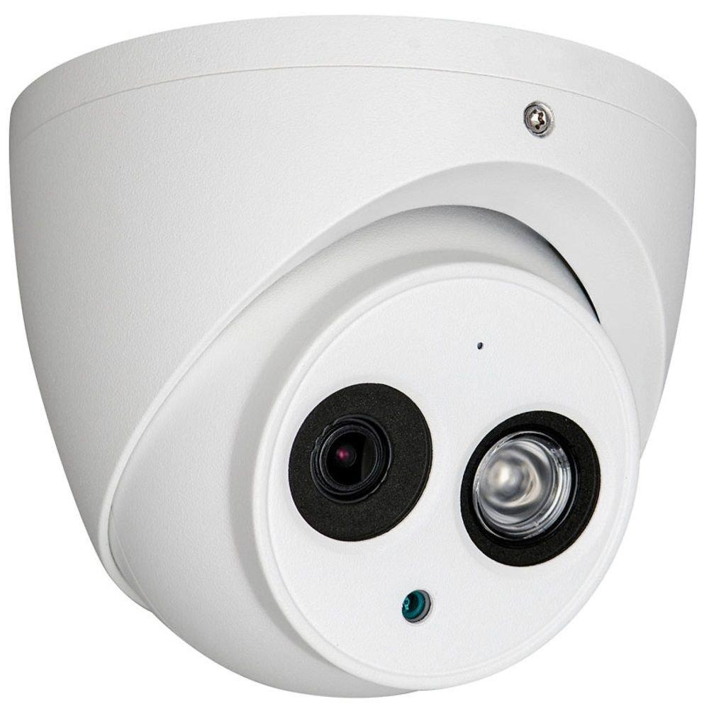 Camera Hdcvi Dahua Hac-hdw1200em-a Dome De Exterior Cu Microfon Incorporat 1080p Ir 50m