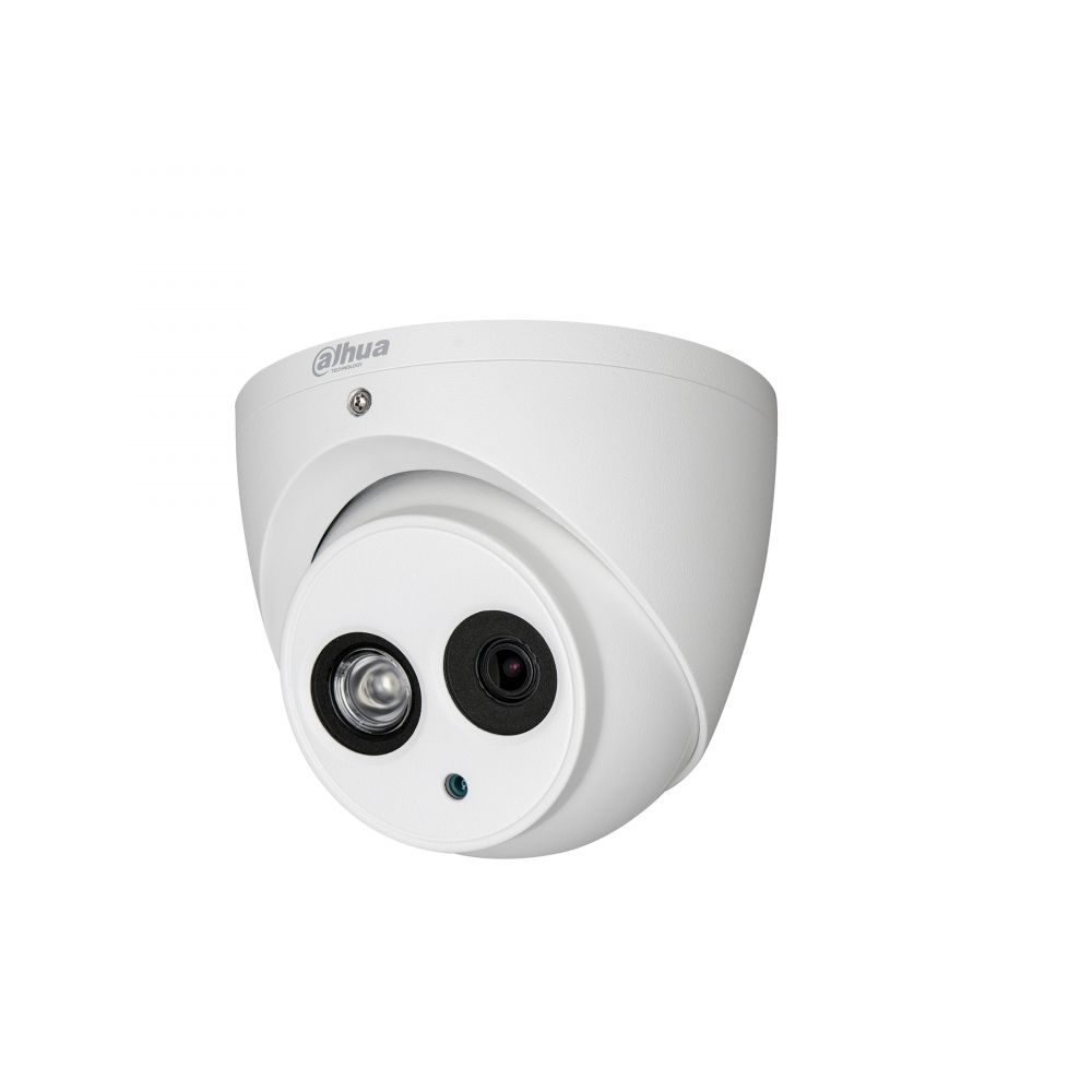 Camera HDCVI Dahua HAC-HDW1400EM de tip dome 4MP 3.6mm Smart IR 50m IP67