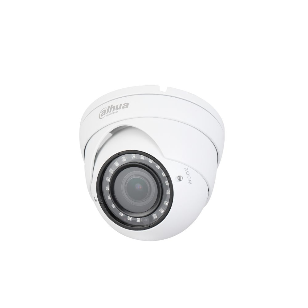 Camera HDCVI Dahua HAC-HDW1400R-VF de tip dome lentila varifocala 2.7-12mm 4MP Smart IR 30m IP67 PoC
