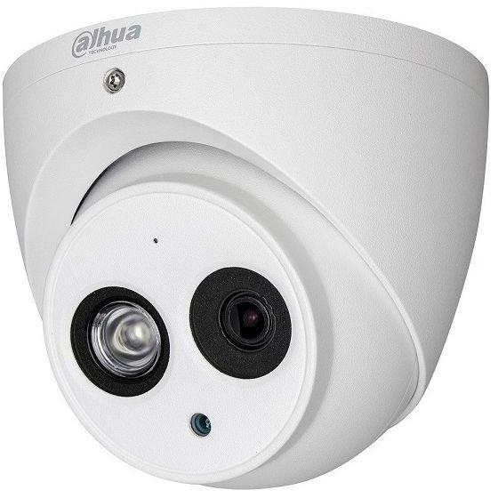 Camera HDCVI Dahua HAC-HDW2401EM dome de exterior 4MP Smart IR 50m 3.6mm