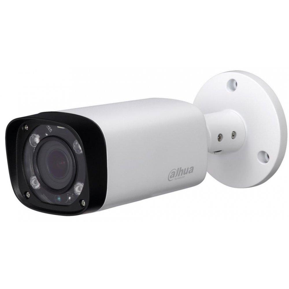 Camera HDCVI DAHUA HAC-HFW1200R-VF-IRE6 bullet de exterior 1080p IR 60m 2.7-13.5mm