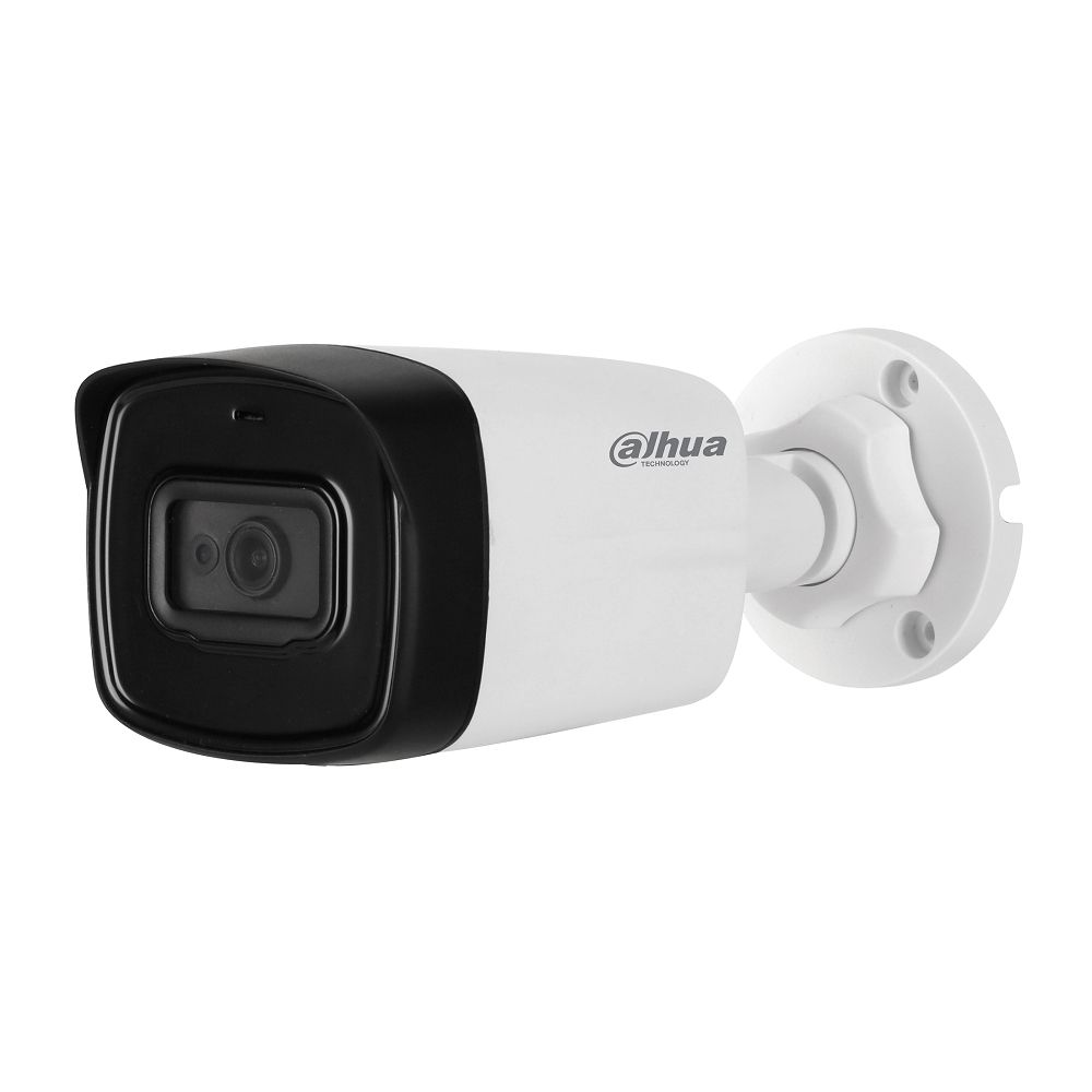 Camera bullet HDCVI Dahua HAC-HFW1200TL-A 2MP 3.6mm IR 80m IP67 microfon integrat