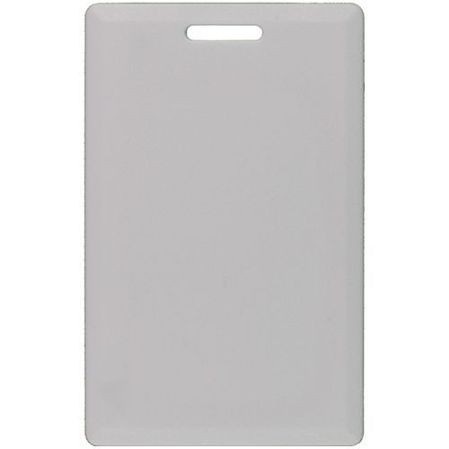 Accesoriu control acces PXW Cartela de proximitate tip H Carcasa din PVC flexibila Alba HCARD