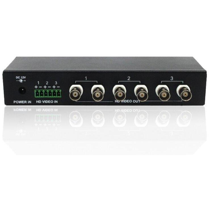 Receptor activ 3 canale HD-103AR pentru sistemele TVI AHD CVI