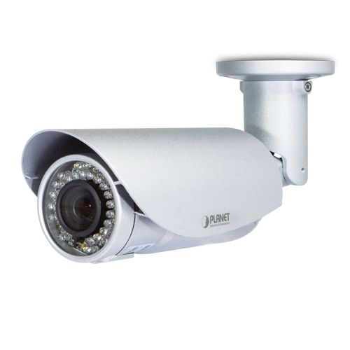 Camera IP 2MP bullet PLANET ICA-3250V (V2) de exterior IP66 IR 25m 3-10.5mm PoE ONVIF