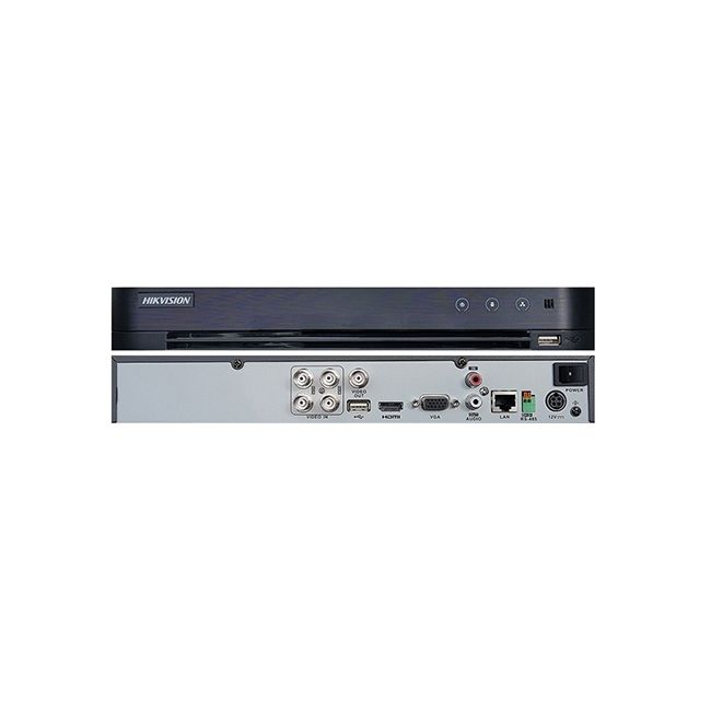 DVR 8 canale Turbo HD 5.0 Hikvision iDS-7208HQHI-K1/4Scu 4 canale DeepLearning H.265+