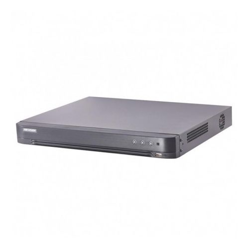 DVR 8 canale Turbo HD 5.0 Hikvision iDS-7208HUHI-K1/4S cu 4 canale DeepLearning H.265+