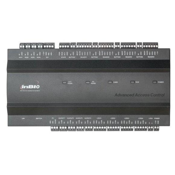 Centrala de control acces biometrica ZKTeco INBIO-4-2 pentru 4 usi bidirectionale