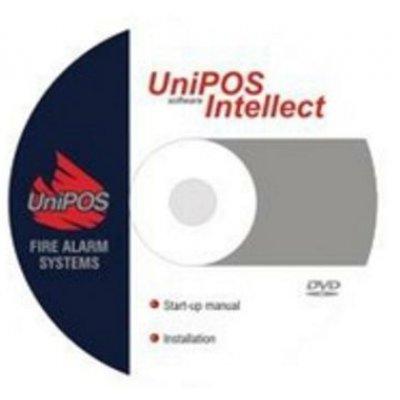 Software grafic pentru monitorizarea seriei de centrale adresabile IFS7000 UniPOS INTELLECT