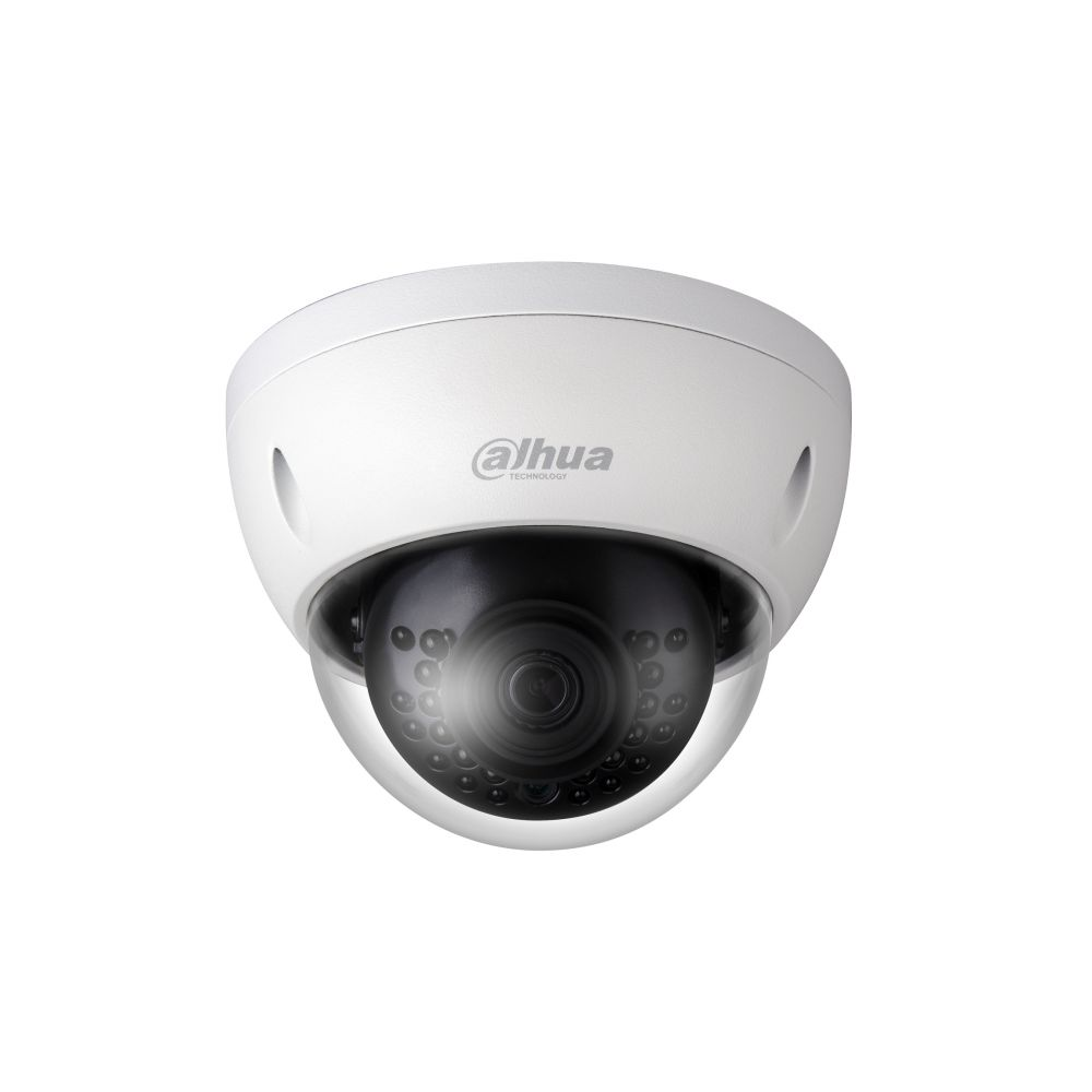 Camera dome IP Dahua IPC-HDBW4431E-AS 4MP 2.8mm IR 30m IP67 IK10 PoE functii IVS WDR 120dB intrari/iesiri alarma/audio