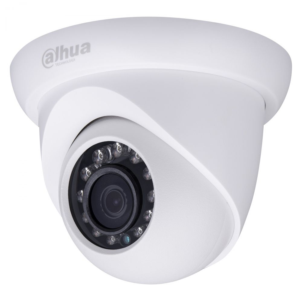 Camera dome IP Dahua IPC-HDW1420S 4MP IR 30m IP67 lentila fixa 3.6mm H.264+ ONVIF