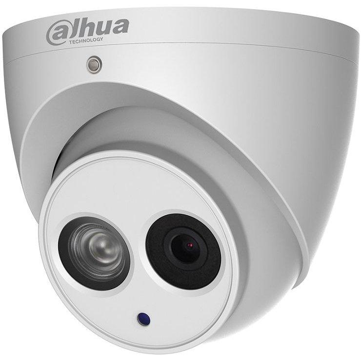 Camera dome IP Dahua IPC-HDW4831EM-ASE 4K 8MP 2.8mm IR 50m IP67 ePoE functii IVS WDR 120dB microfon incorporat