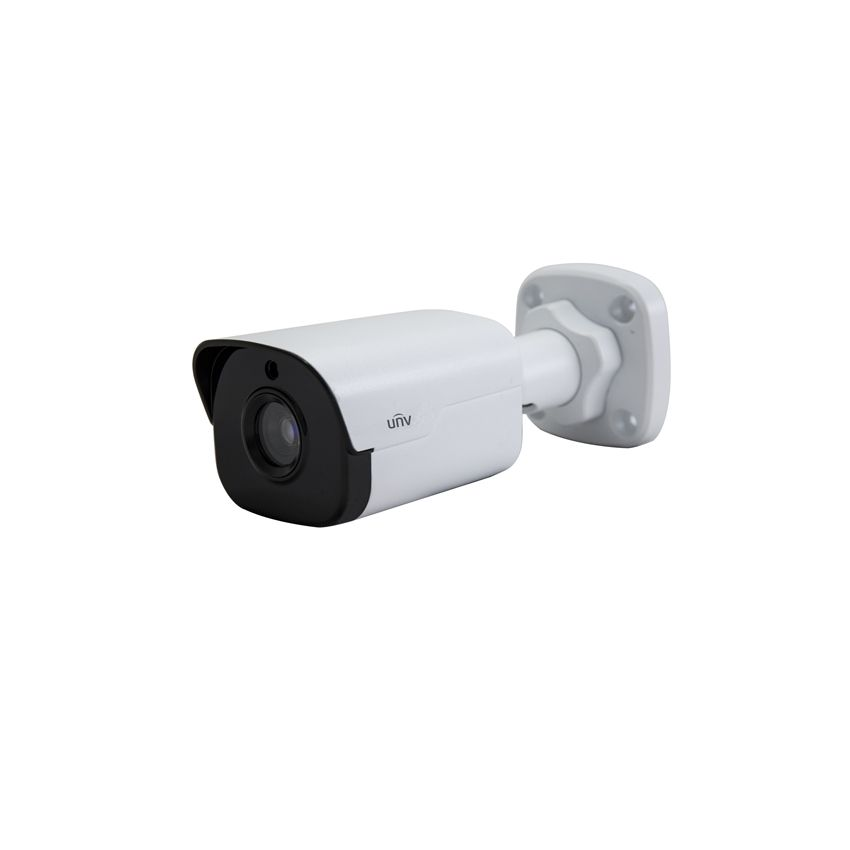 Camera mini bullet IP 4MP Uniview IPC2124SR3-DPF36 lentila fixa 3.6mm (6mm sau 12mm) IR 30m IP66 ONVIF