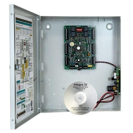 Centrala De Control Acces Pentru 2 Usi Bidirection