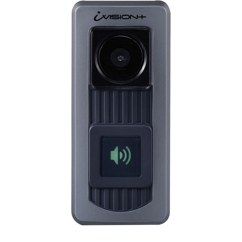 Unitate De Exterior Cu 1 Buton Fluorescent Si Camera Video Cu Ir Pentru Extindere Ivp-dh