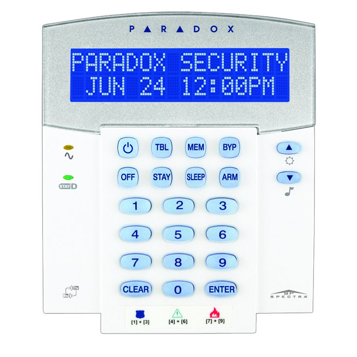 Tastatura LCD 32-caractere Paradox K32LX