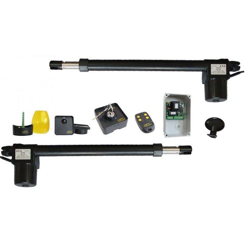 Kit Automatizare Pentru Porti Batante.cursa 600 Mm. 1400 Rpm - 250 Kg Gpa Kgp 62/14