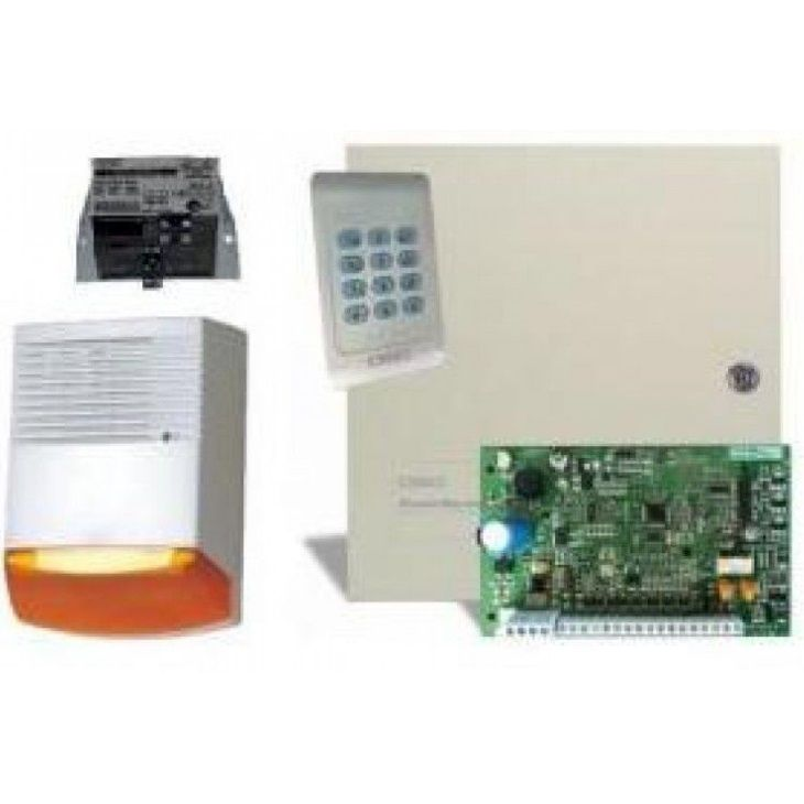 Kit sisteme alarma DSC KIT 1404 EXT SIR