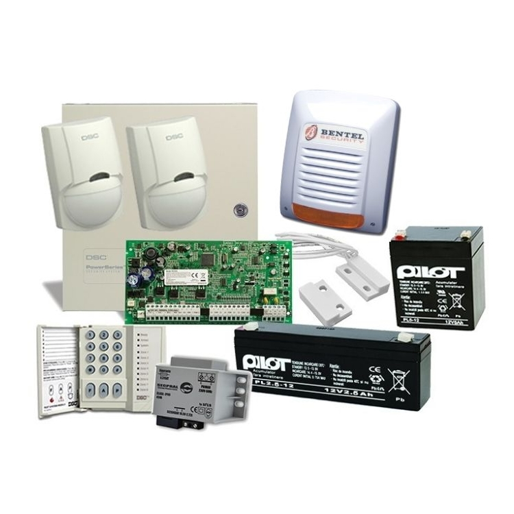 Imagine Kit Alarma Cu Sirena De Exterior Dsc 1616 Ext