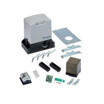 Kit automatizare pentru porti culisante FAAC KIT 740 E Z16 500KG