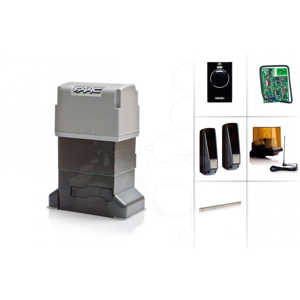 Kit automatizare pentru porti culisante FAAC KIT 844 ER Z16