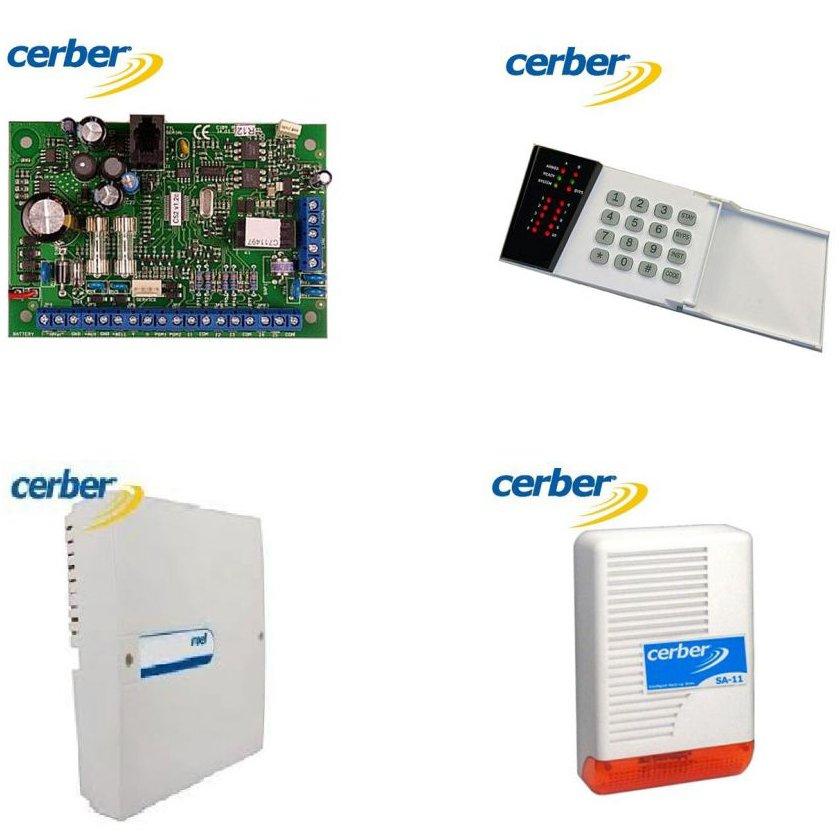 Kit Alarma Cerber C62 Pcb