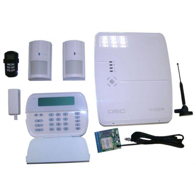 Kit Alarma Wireless Alexor Gsm Seka