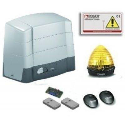 Kit automatizare poarta culisanta Roger Brushless BG30/2203 utilizare intensiva limitator mecanic 2200Kg greutatea maxima