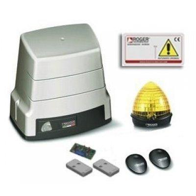 Kit automatizare poarta culisanta Roger Brushless BH30/805 ultilizare intensiva limitator mecanic 1000kg greutate maxima