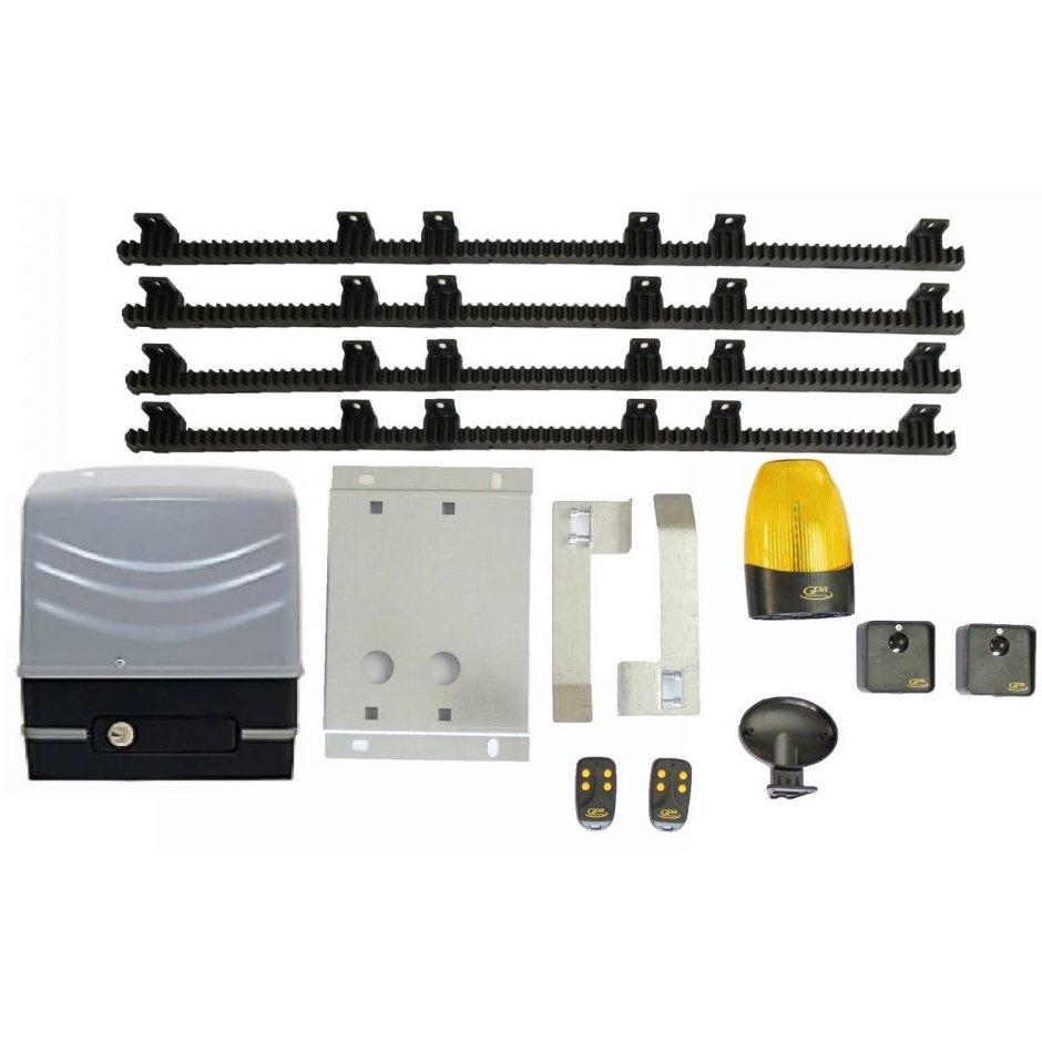 Kit automatizare pentru porti culisante cu 4m cremaliera inclus GPA Culis 600
