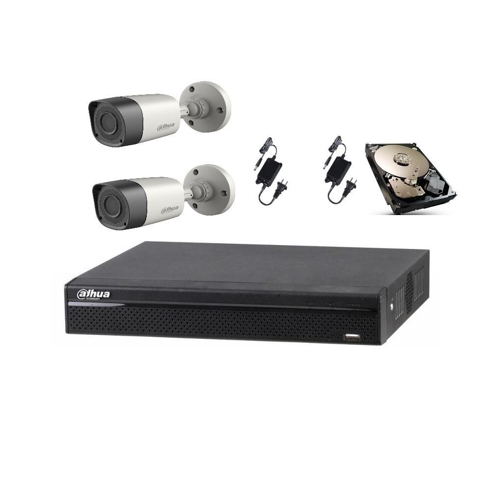 Sistem de supraveghere video Dahua Kit HDCVI ITP