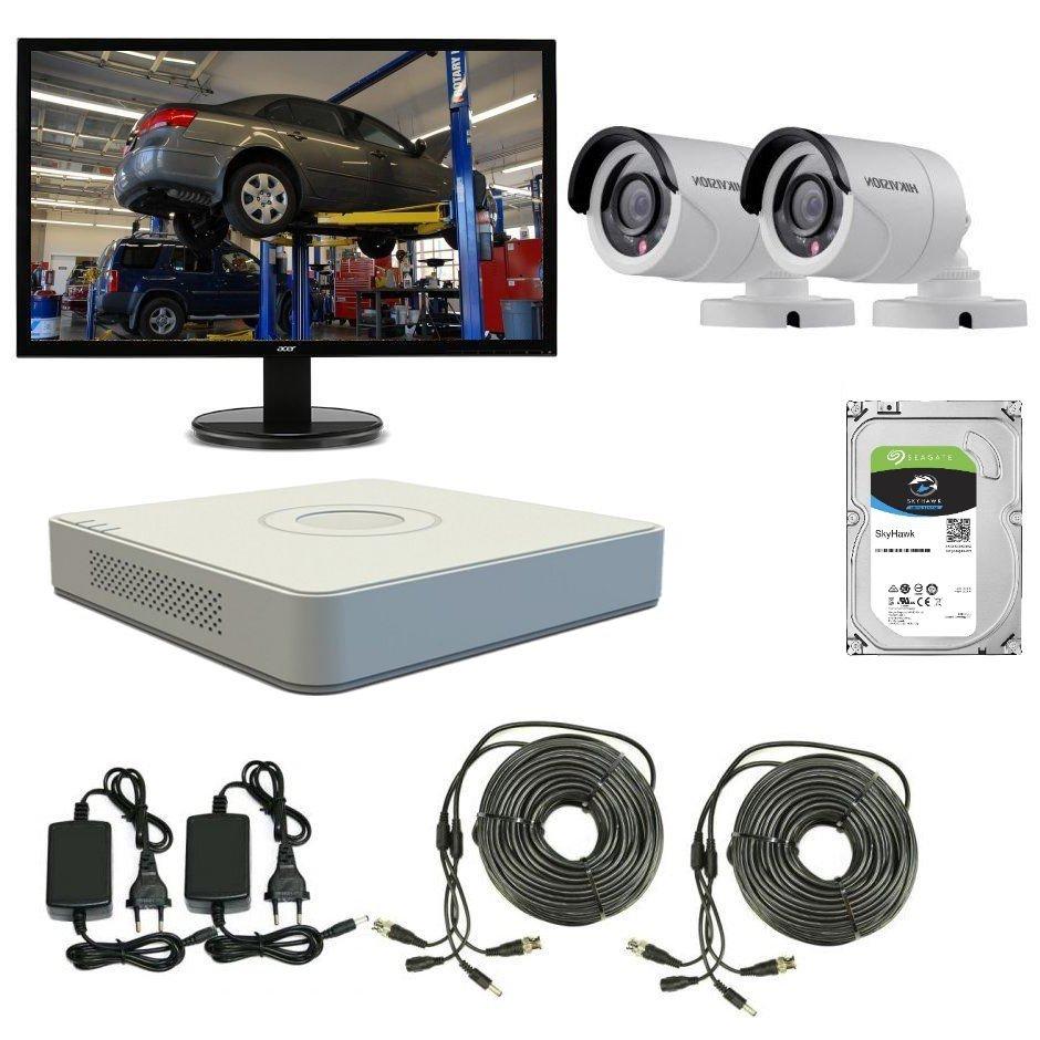 Sistem complet de supraveghere video pentru statii ITP
