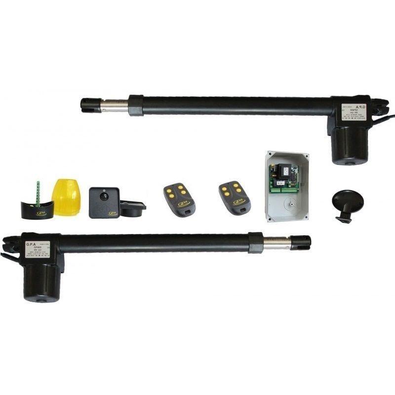 Kit Automatizare Pentru Porti Batante.cursa 400 Mm. 1400 Rpm - 250 Kg Gpa Kgp 42/14